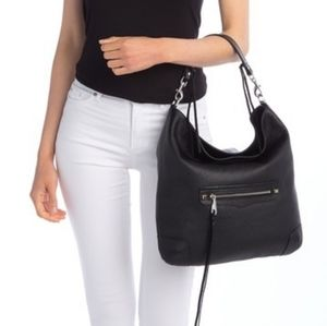 NWT Rebecca Minkoff Slim Regan Leather Hobo Bag